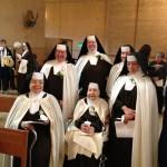 Carmelite Sister Jubilarians Cathedral