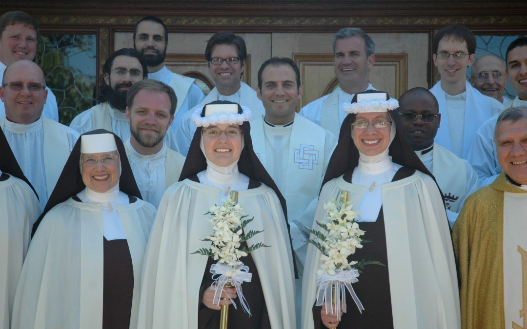 Carmelite Siters First Profession