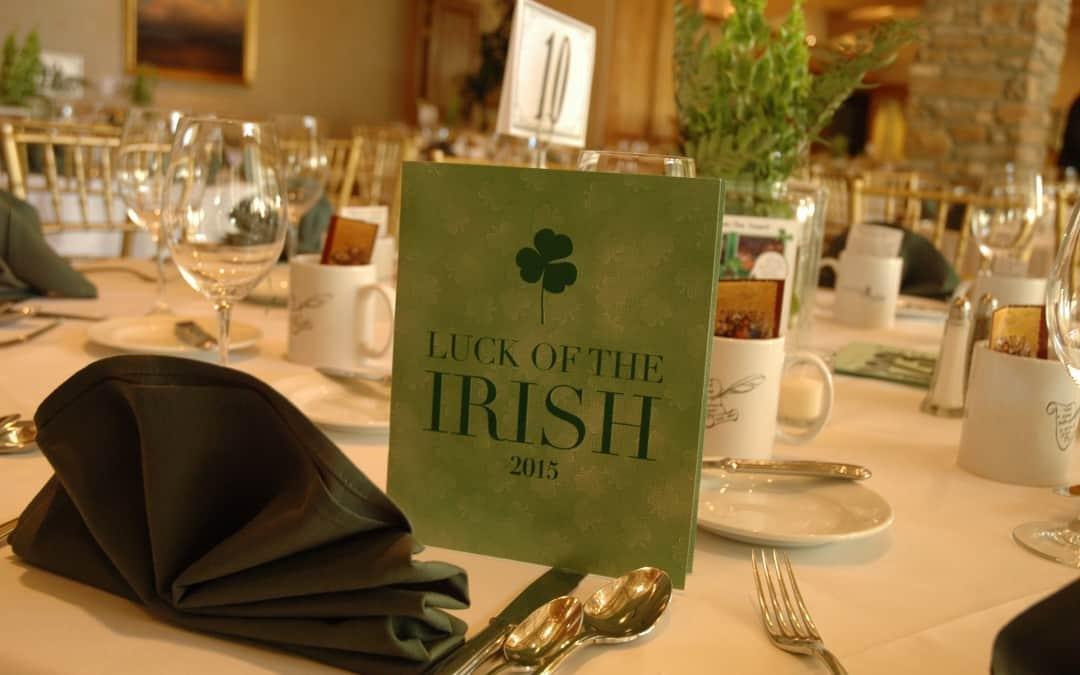 Luck of the Irish Table