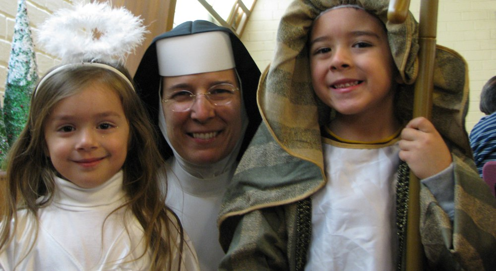 Carmelite Sisters Christmas Pageant