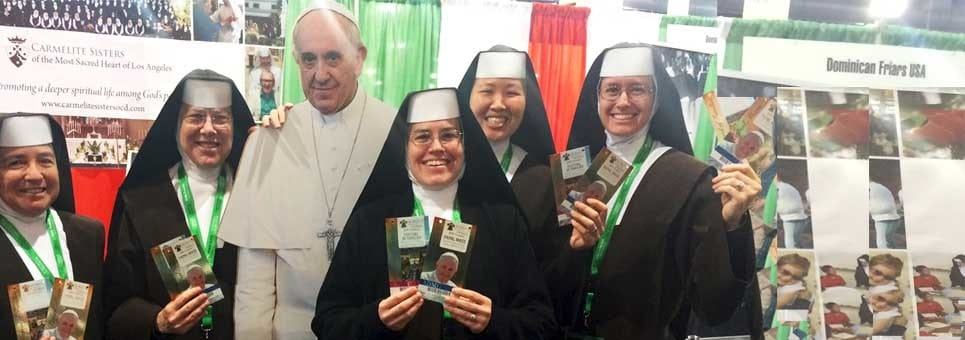 With Pope Francis in Philadelphia!