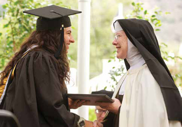 Sister Regina Marie, Carmelite, Thomas Aquinas College