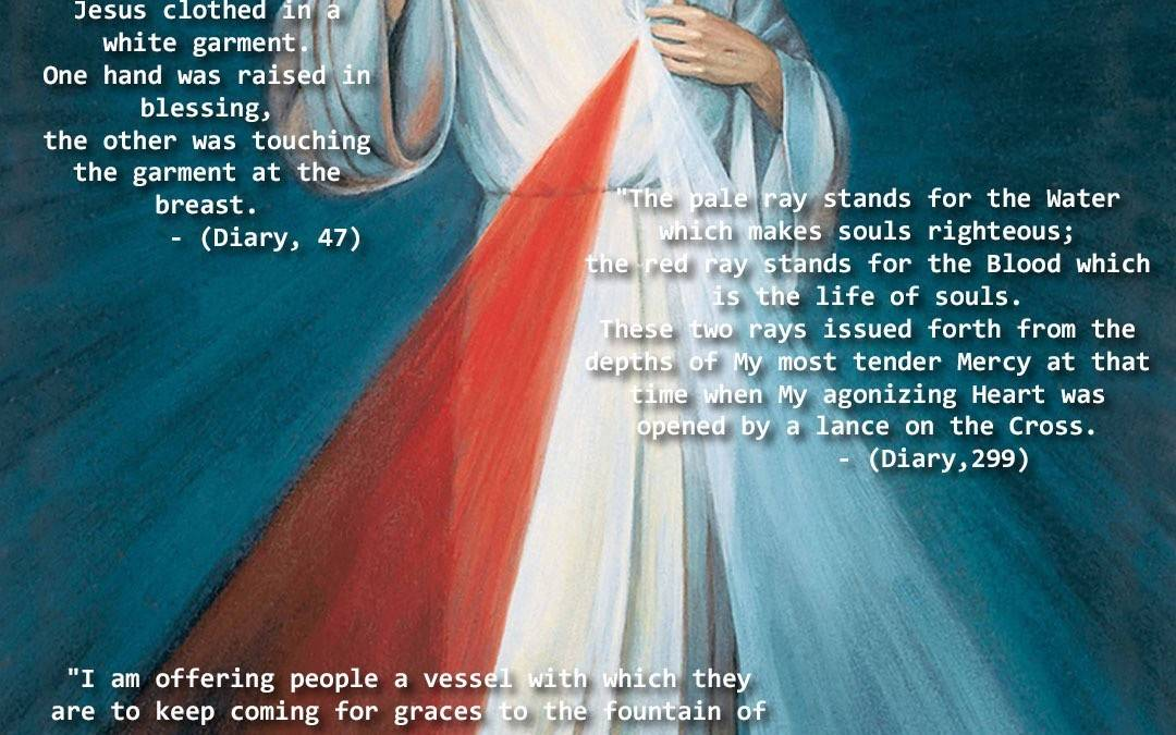 Five Facts Divine Mercy Image