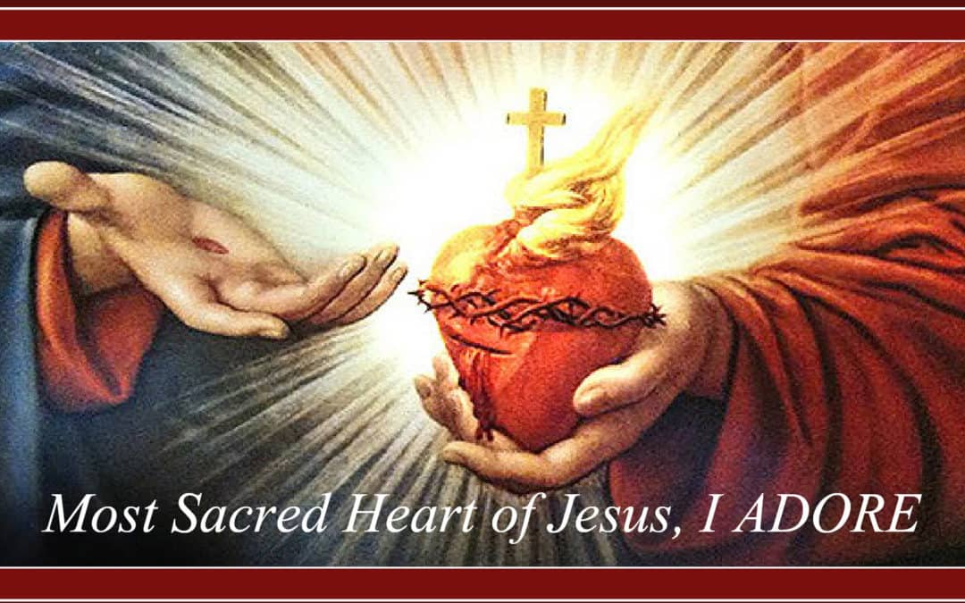 Conforming Our Hearts to the Sacred Heart of Jesus