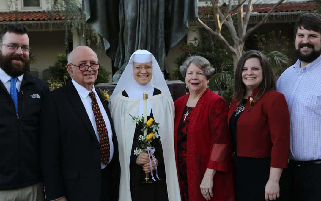 First Profession | Sr. Helene Therese