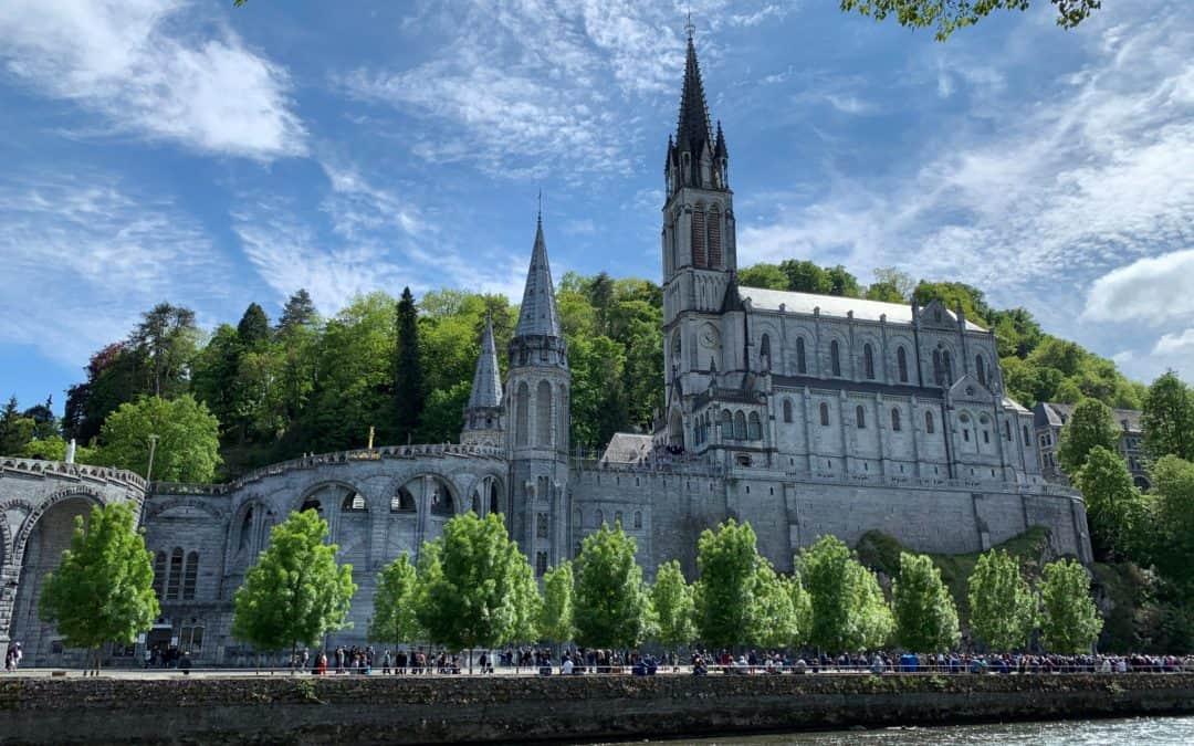 Beginning our Pilgrimage to Lourdes